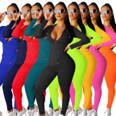 Fashion pants long sleeve suit