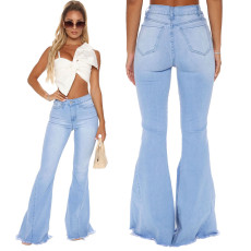 Fashionable high waisted Stretch Jeans