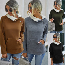 Patchwork Plush warm and comfortable top