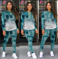 Tie dyed casual suit