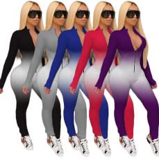 Gradient sexy Jumpsuit