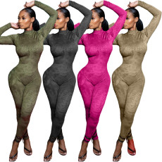 Breathable mesh casual sports Jumpsuit