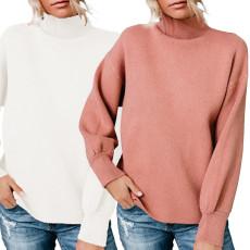 Fashion stand collar T-shirt