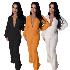 Casual fashion sexy loose Jumpsuit