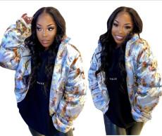 Fashionable down jacket