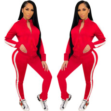 Fashion sports leisure two piece set
