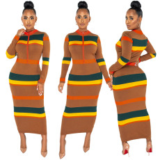 Fashion digital print dress