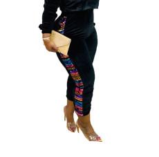 Fashionable casual Sequin Velvet Pants