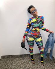 Fashion leisure sports suit