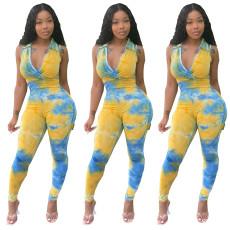 Sexy print Jumpsuit
