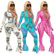 Fashion print Jumpsuit