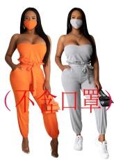 Fashion sexy bra Jumpsuit (without mask)