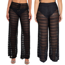 Casual fashion mesh sun protection beach pants