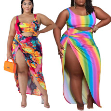 Bikini beach sexy swimsuit two piece set