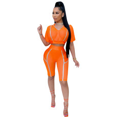 High elastic new sports leisure suit