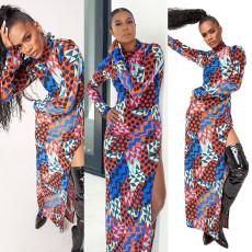 Fashion trend stitching dress