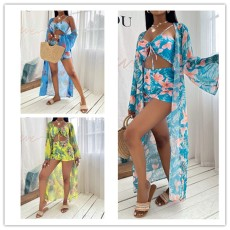 Three Piece Bikini Swimsuit