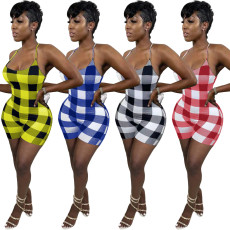 Fashion sexy tie dye print dress