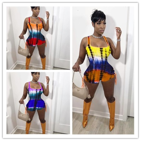 Super short Jumpsuit with sexy tight bandage