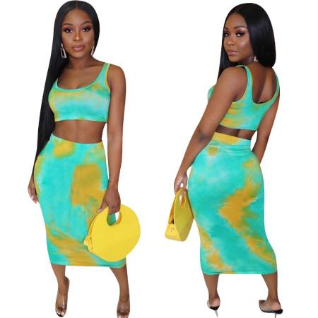 Fashion leisure color suit