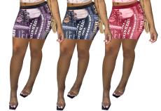 Sexy Print Shorts (single pants)
