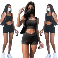 Hollow out off shoulder sexy suit (excluding mask)