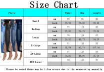 Fashion stretch denim skirt