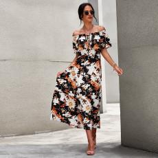 Fashion loose print dress