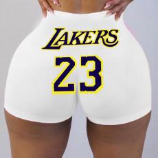 Sexy tight shorts printed shorts Yoga Pants