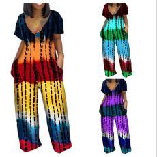 Tie dye printed Jumpsuit