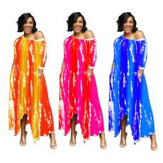 Gradually loose and fashionable loose dress