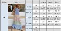 Fashion stripe dress