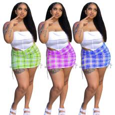 Fashion print casual skirt (single skirt)