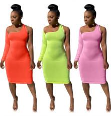Sexy irregular dress