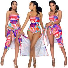 Two piece printed Bikini Swimsuit