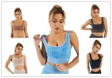 Fashion sports fitness bra