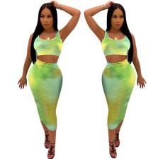 Fashion casual color suit skirt