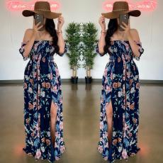Fashion sexy print dress