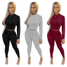 Leisure sports solid waist set