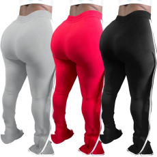 Fashion solid color sports casual pants