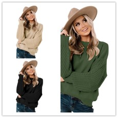 Base knitted top Pullover