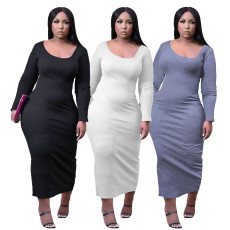 Casual slim sexy dress