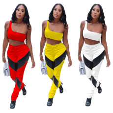 Leisure and fashion two piece set
