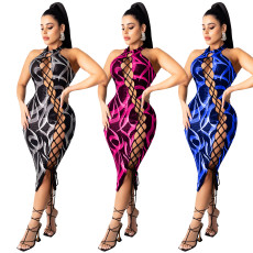 Sexy bandage sleeveless dress