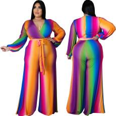 Sexy fashion V-neck Jumpsuit