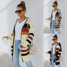 Fashion sweater coat