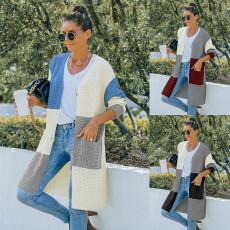 Fashion sweater cardigan coat