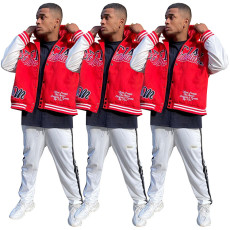 Men's fashion casual Hooded Jacket
