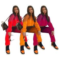 Fashion casual gradient sportswear