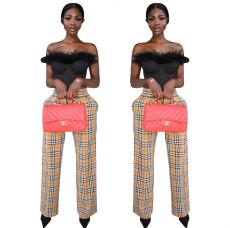 Fashion printed casual pants